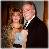Bill Silvestri, President, receives the prestigious Granite Award